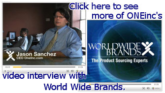 World Wide Brands interviews ONEinc CEO Jason Sanchez